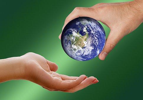 Monde, Terre, Globe, Donjon, Donner