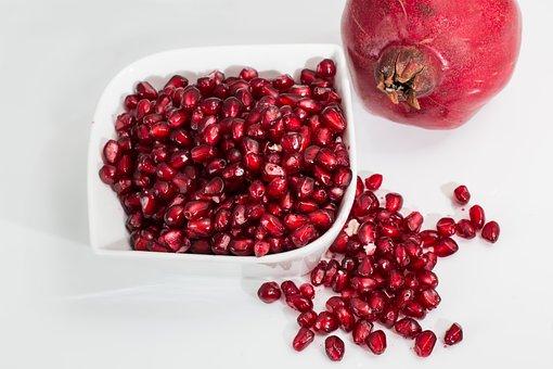 Pomegranate, Fruit, Seeds, Food, Fresh
