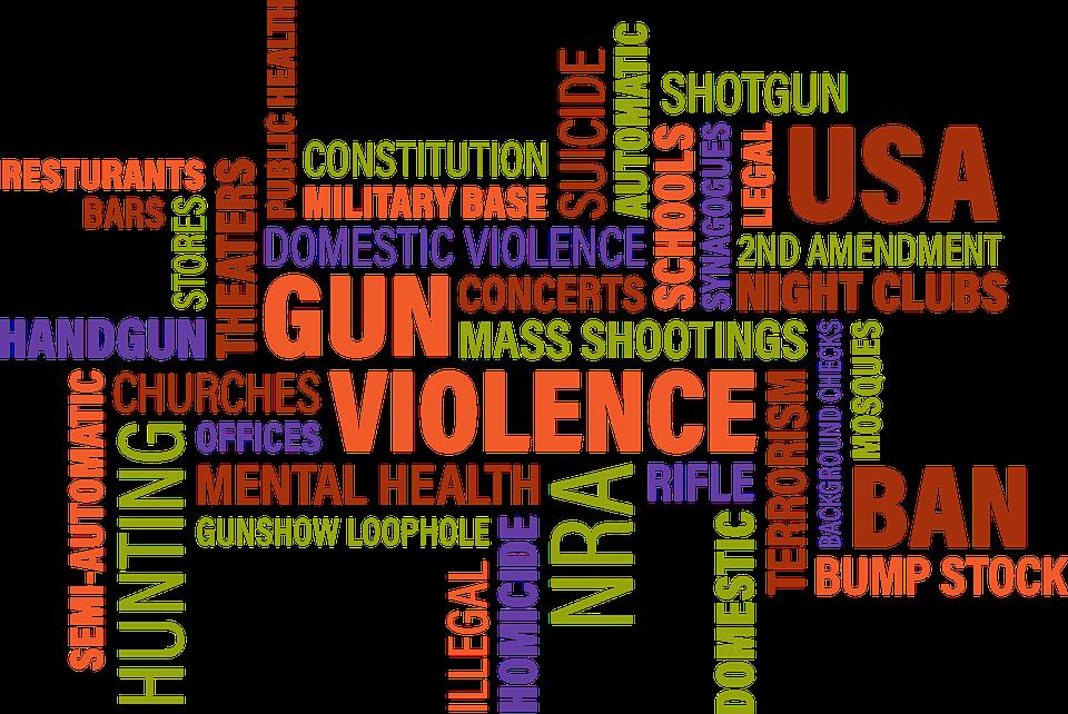 Nube De Palabras La Violencia - Gráficos vectoriales gratis en Pixabay