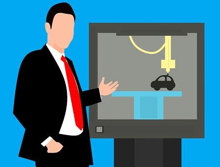 Technology, 3D, Print, Printer, Cad