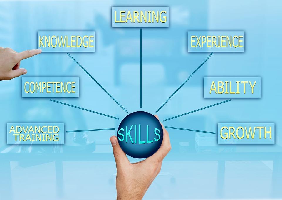 スキル、能力、知識、成功、戦略