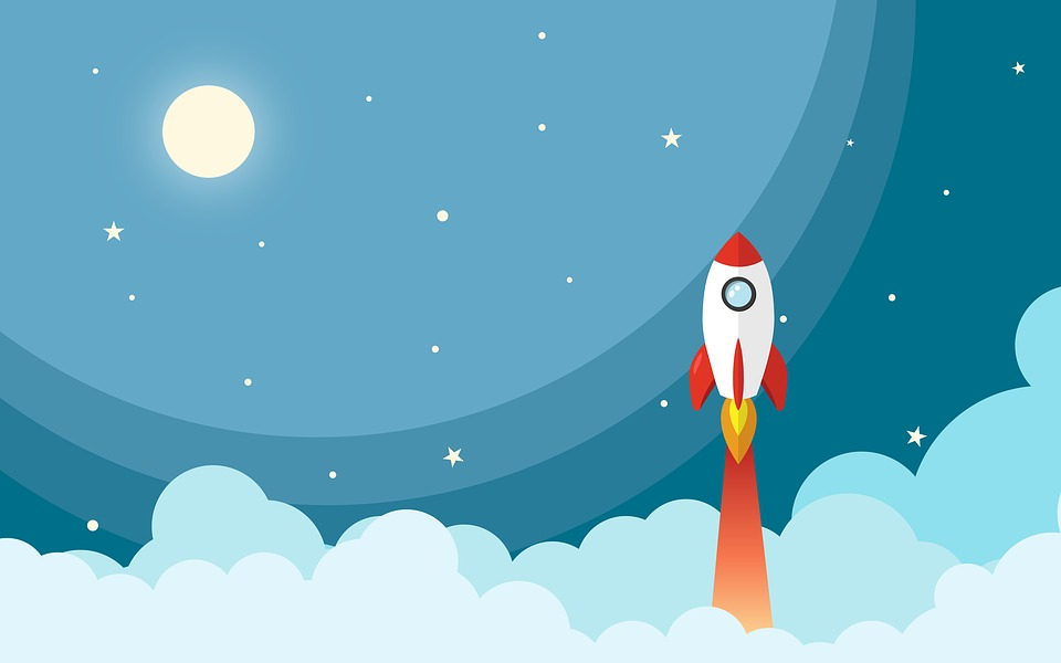 Space Rocket Night · Free Image On Pixabay