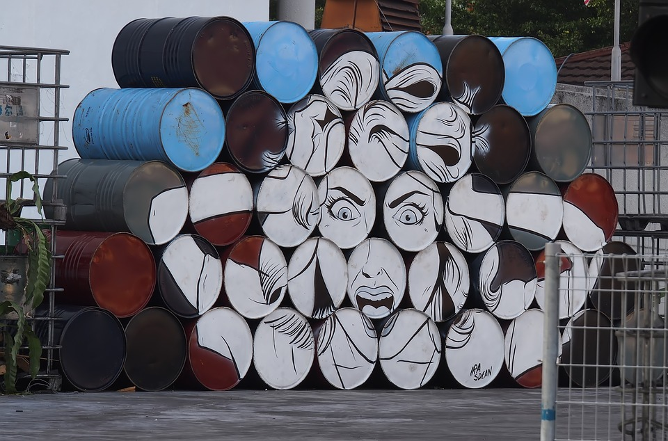 Industry, Container, Urban, Outdoors, Art, Artwork, upcycled art