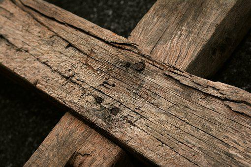 Wooden Cross, Wood, Good Friday, Passion