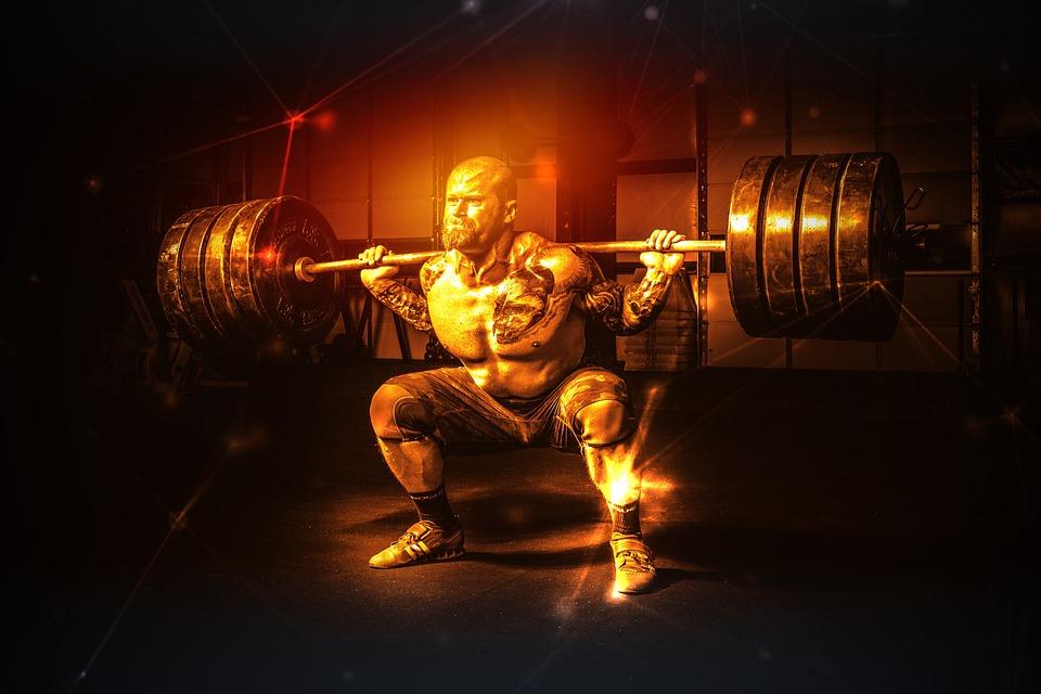 男, 重量挙げ, 筋肉, 強度, ボディービル, 運動選手, 機器, スポーツ, トレーニング, 運動, 電源
