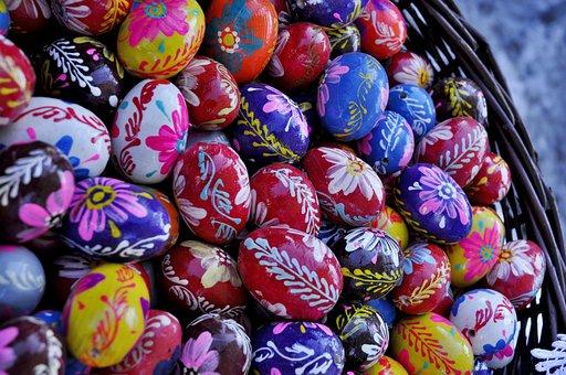 Wielkanoc, Pisanki, Jaja Wielkanocne