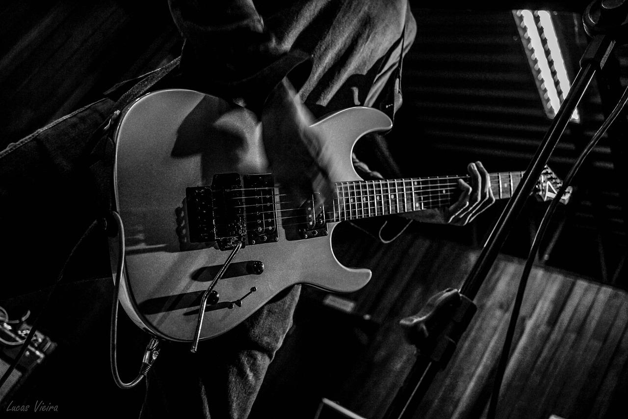 Рок гитарист в картинках