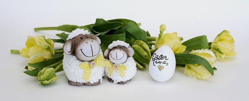 Owiec, Wielkanoc, Pisanka, Dekoracji