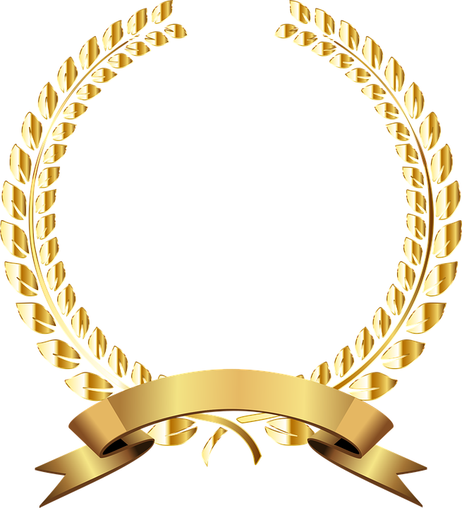 golden laurel wreath  u00b7 free vector graphic on pixabay fisherman clipart for headstone fisherman clipart for headstone