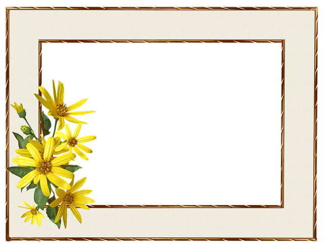 Frame Border Yellow · Free Photo On Pixabay