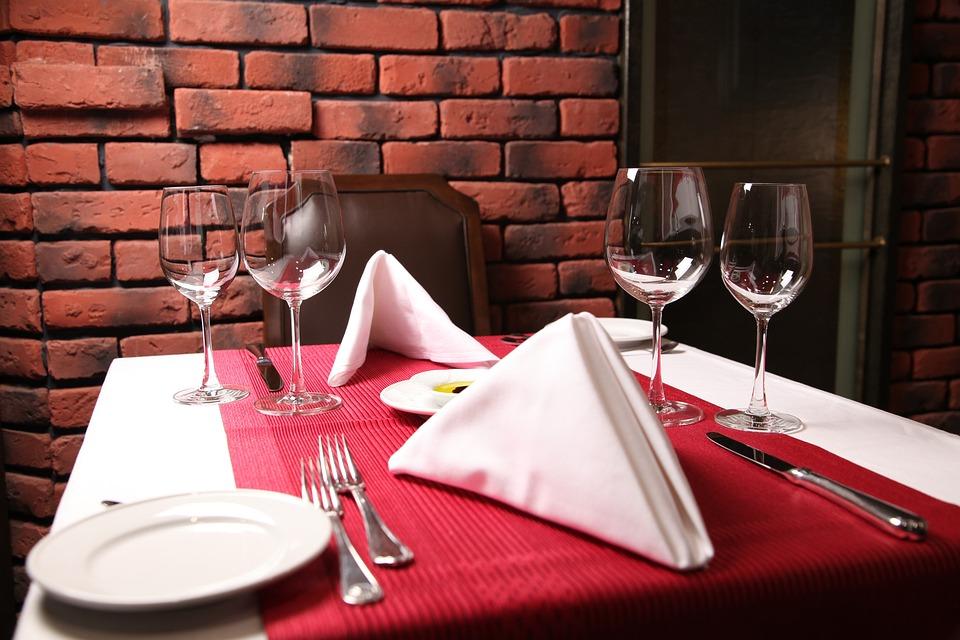 Vino, Mesa, De Lujo, Comedor, Wineglass, Restaurante
