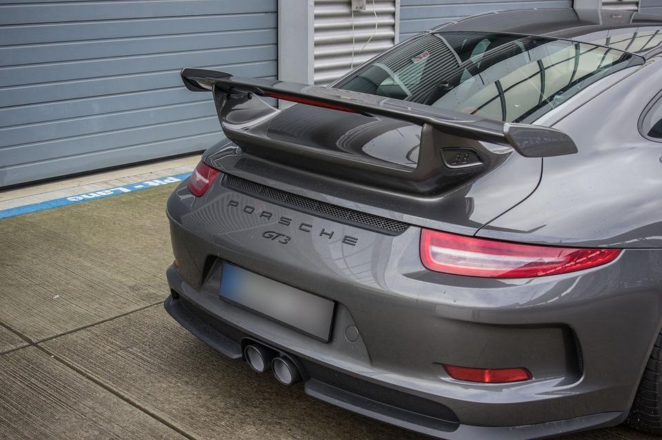 Auto Porsche Rear Spoiler Sports Free Photo On Pixabay