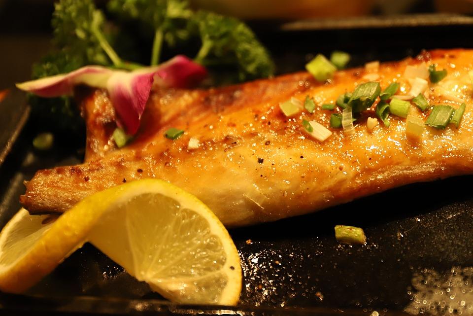 Cibo, Carne, Cena, Pesce Blu-E-Bianco, Gourmet