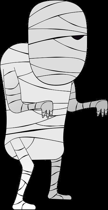 Mumie Halloween Spaß · Kostenlose Vektorgrafik auf Pixabay