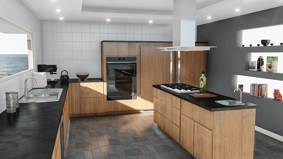 Kitchen, Design, Modern, Contemporary, Indoors