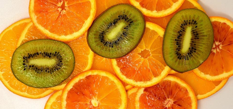 Laranja, Quivi, Delicious, Frutas, Vitaminhaltig