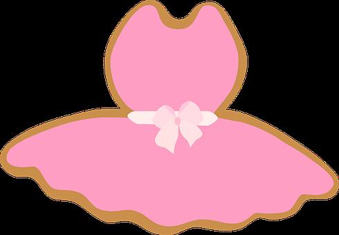 芭蕾舞裙, 连衣裙, 少女, 粉红色, 色带, 蝴蝶领结, 女孩, 舞蹈, 性能