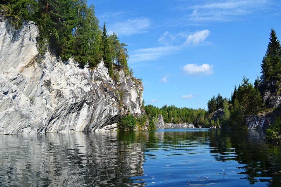 Gewässer, Natur, Fluss, Baum, Landschaft, Lake, Berge