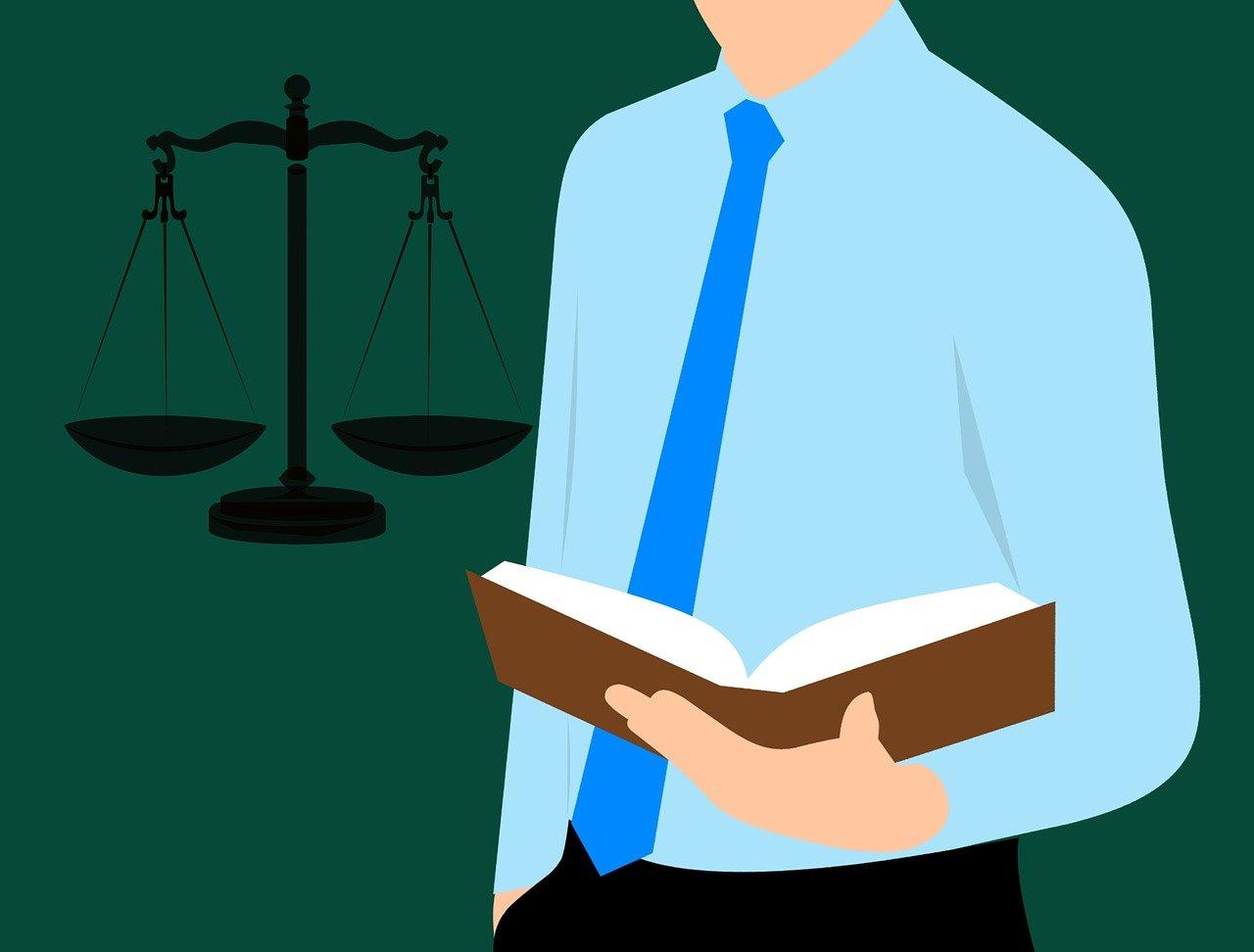 Student práv hledá informace v knize (Zdroj: Fotobanka Pixabay.com)