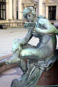 Sculpture, Statue, Art, Human, Hamburg