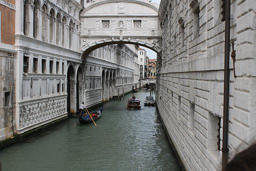 Venice, The Bridge Of Sighs, Channel