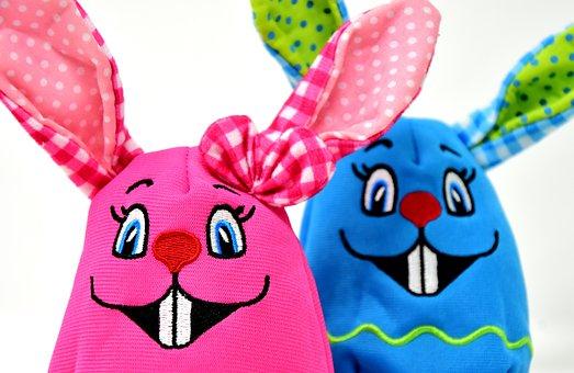 イースター, イースターのウサギ, カラフル, 色, イースターの装飾, デコ