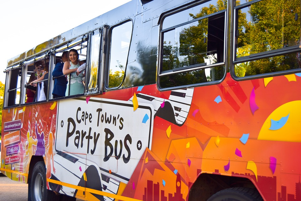 Party Bus, Prom, Bus, Transportation System, Car
