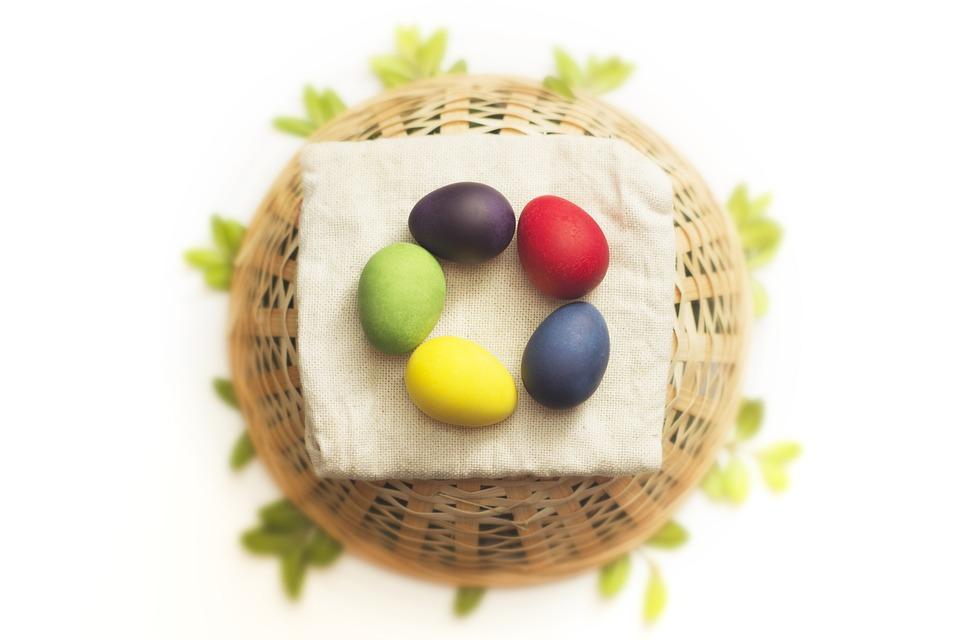 Ostern Eier Bunt Kostenloses Foto Auf Pixabay