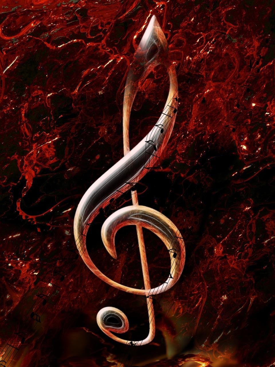 Картинки скрипичного ключа в огне заинтересовали