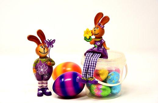 Velikonoce, Velikonoční Zajíček, Dvojice