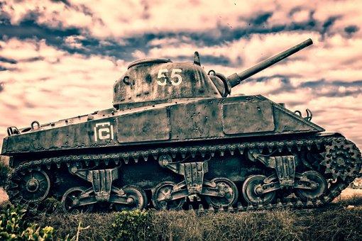 Panzer, Memorial, France, Normandy