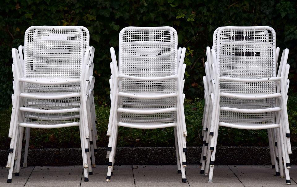 Sedie Da Giardino In Metallo.Sedie Da Giardino Bianco Metallo Foto Gratis Su Pixabay