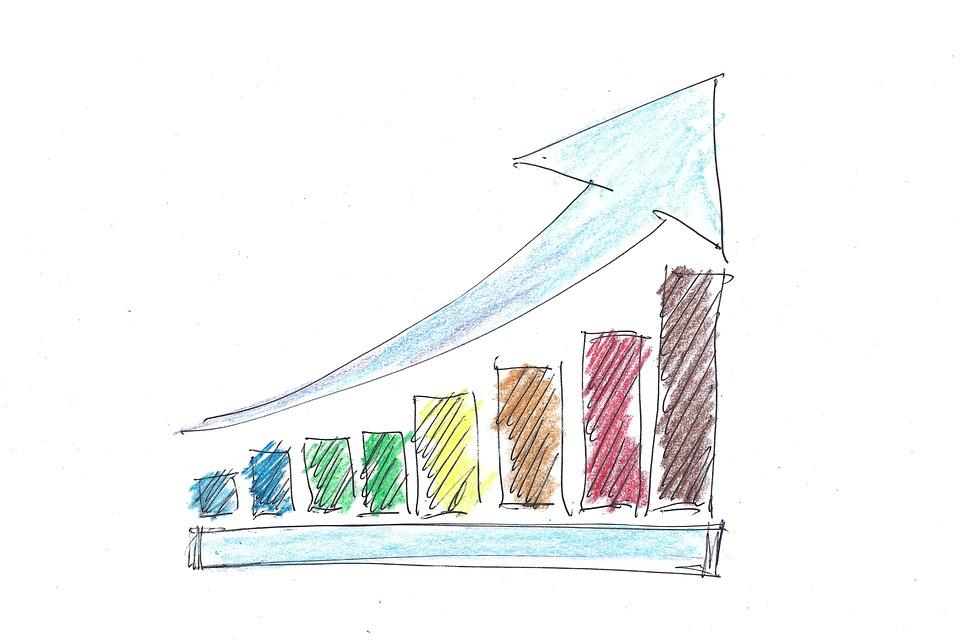 Drawing, Arrow, Success, Business, Finance, Profit