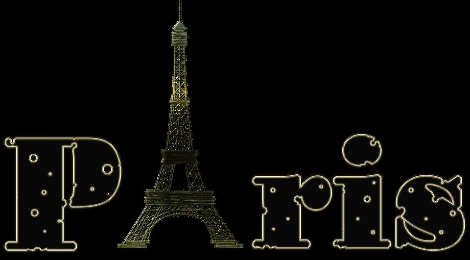 Paris Letters Eiffel Tower · Free Image On Pixabay