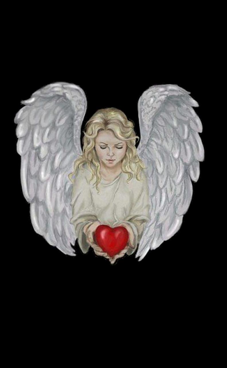 Красивые картинки сердца ангела