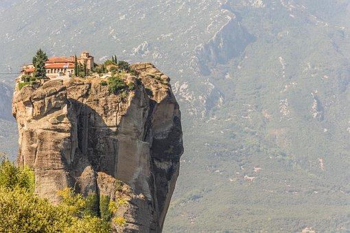 Vista de Meteora Grecia