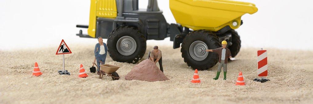 Site, Trabalhadores Da Construção Civil