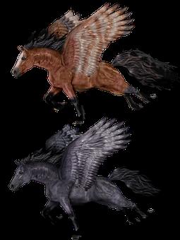 Pegasus, Flying, Horse, Pony, Legend