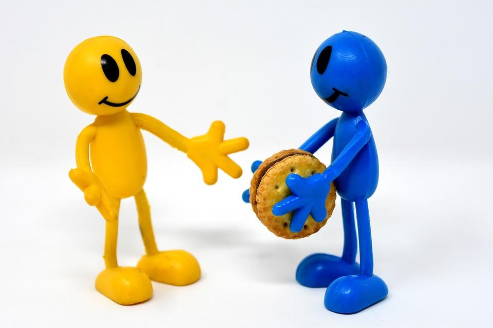 Teilen, Geben, Nehmen, Gewaltfreie Kommunikation