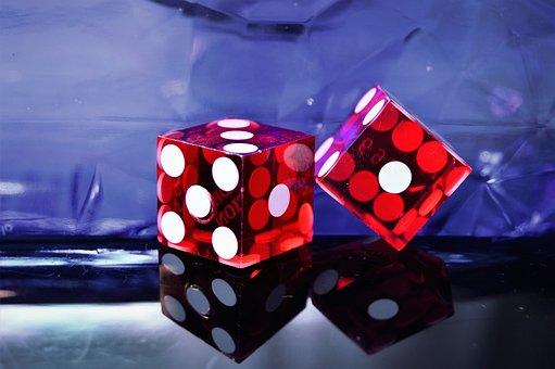 Casino, Dice, Lucky, Gambling, Games