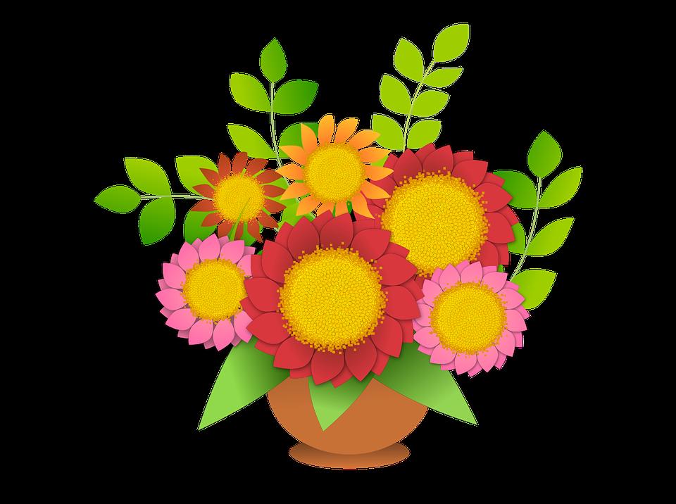 Kwiat Bukiet Kwiatów - Darmowa grafika wektorowa na Pixabay
