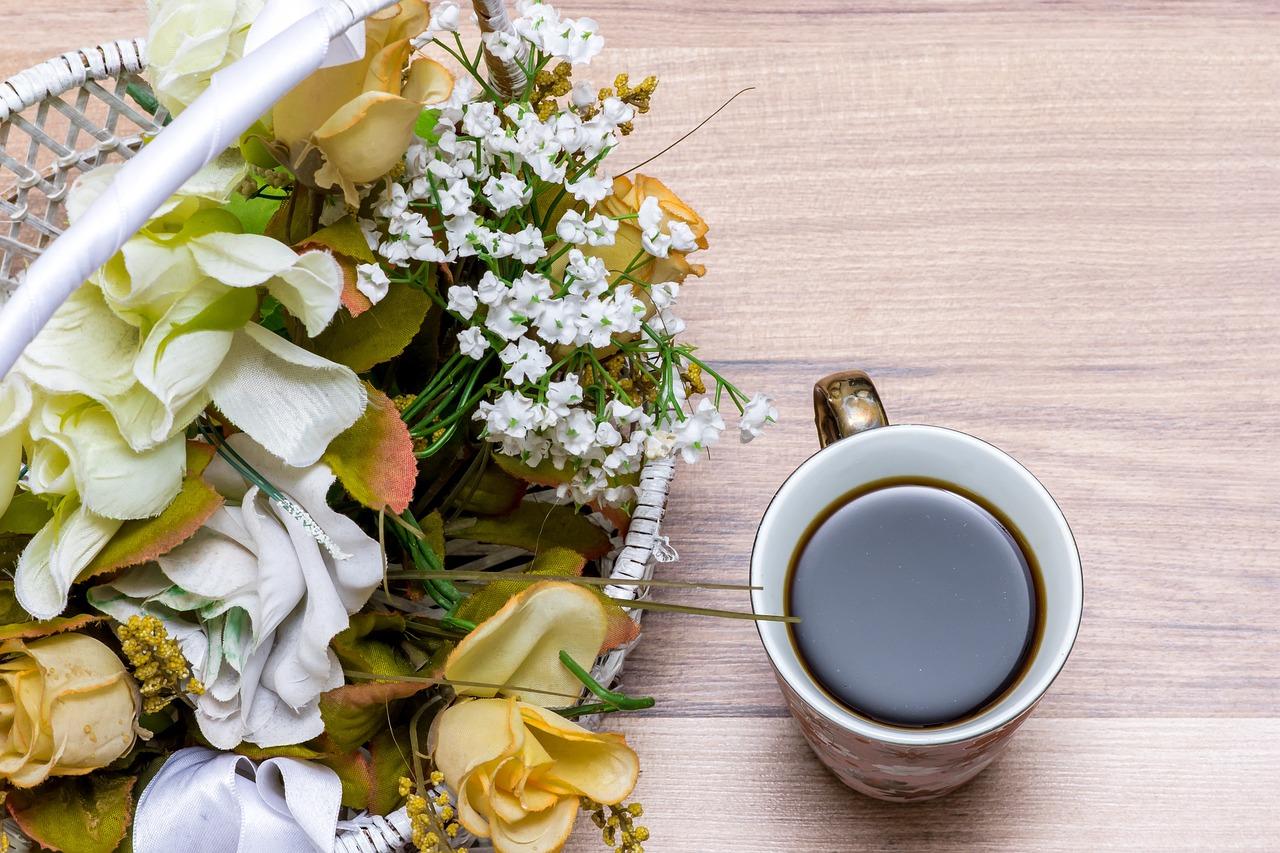картинки про цветы и доброе утро череда