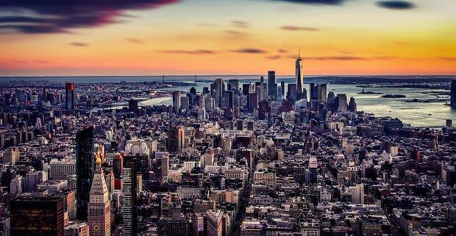 New York, Skyline, Architecture