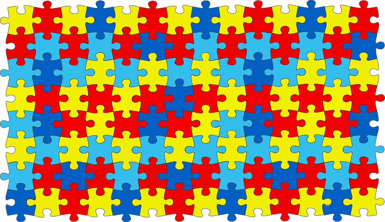 A picture of organized puzzle pieces, symbolizing autism. | Photo: Pixabay