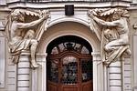 kamienica, zabytek, drzwi