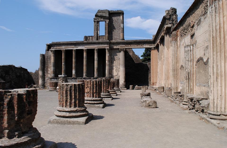 Arquitectura, Antigua, La Construcción De, De Viaje