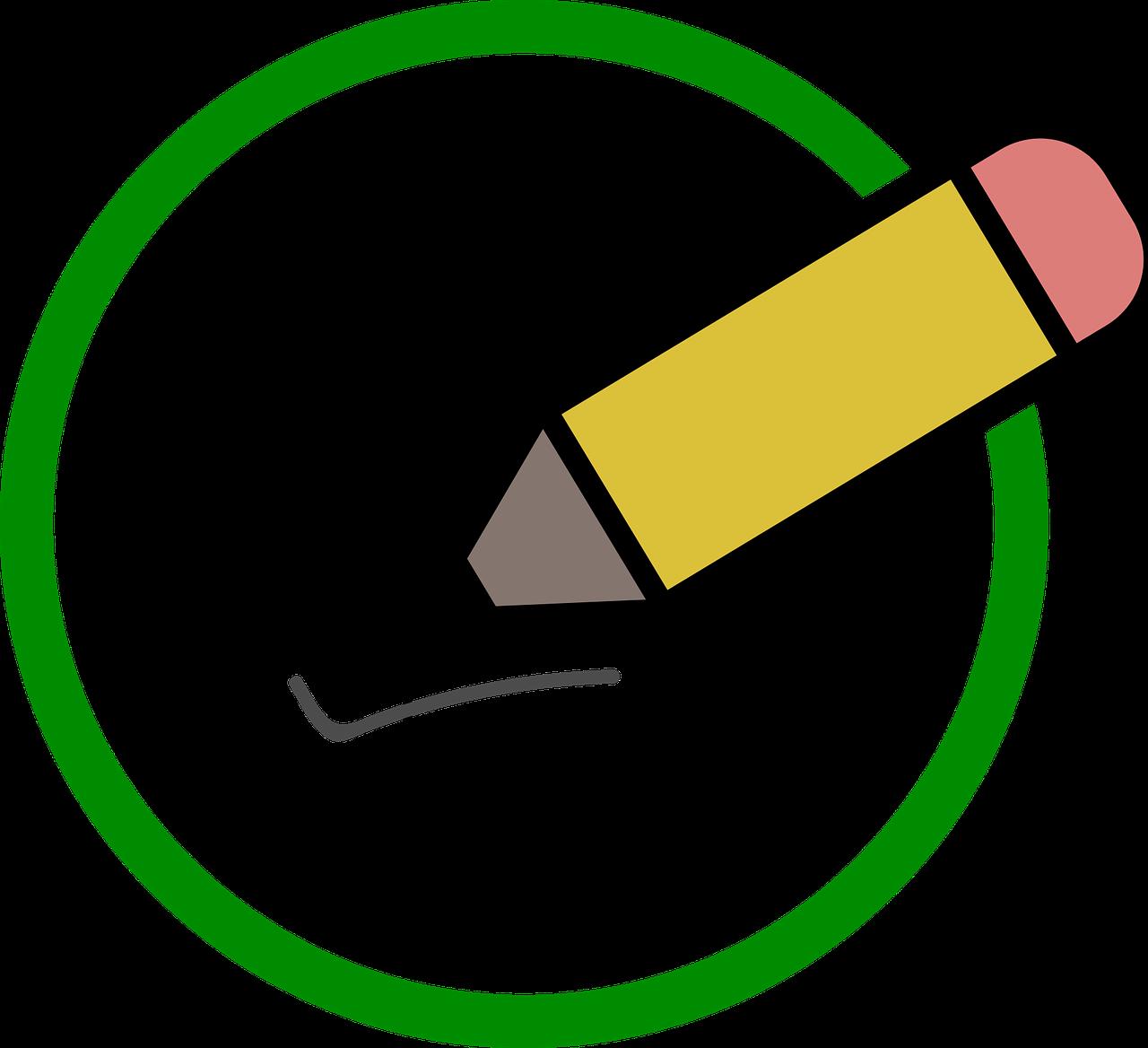 Enquête Poll Potlood - Gratis vectorafbeelding op Pixabay