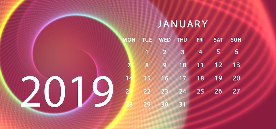 háttérkép naptár 2019 Napirend Naptár 2019 · Ingyenes kép a Pixabay en háttérkép naptár 2019