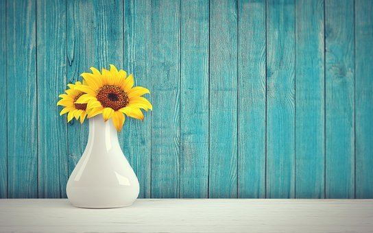 Flower vase images pixabay download free pictures sunflower vase vintage retro wall mightylinksfo