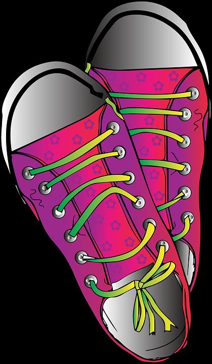 Joggesko Gratis Røde på Sko vektorgrafikk Pixabay rBxeQCWEod